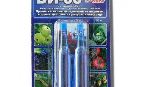 Инсектицид «БИ-58» новый — инструкция по применению для каждого отдельного случая