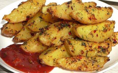 Пошаговая инструкция приготовления картофеля «Айдахо»
