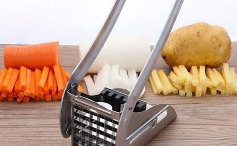 На дачной кухне инструмент для нарезки овощей из Китая