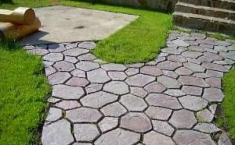 Тротуарная плитка для дачи своими руками