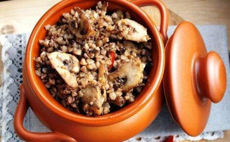Как быстро и вкусно приготовить гречку с грибами