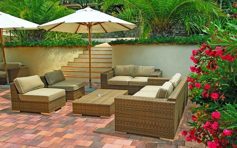 комфортная садовая мебель