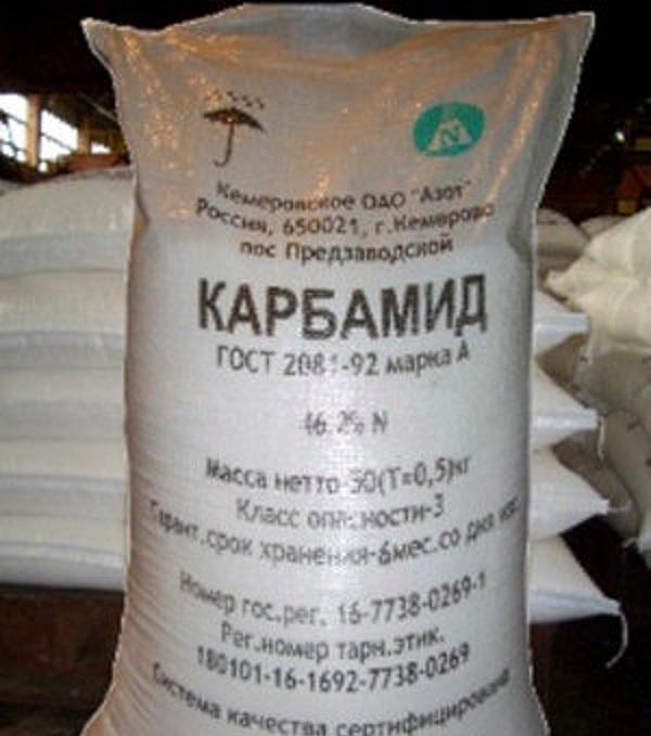 Карбамид - азотное удобрение для почвы