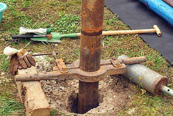 Скважина для воды своими руками видео фото 843