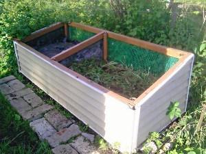 Закладка компоста из навоза
