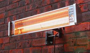 электрические инфракрасные уличные обогреватели