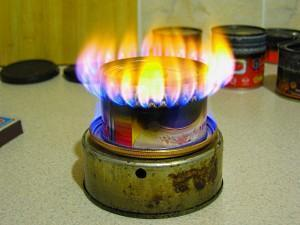 самодельный газовый обогреватель