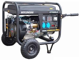 Дизельный генератор для дачи марки Hyundai