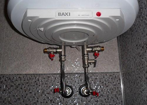Правильное подключение бойлера для быстрого слива воды