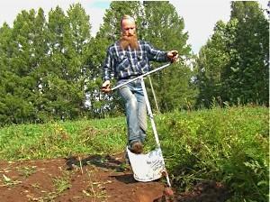уникальная лопата