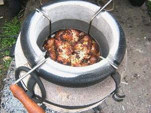 керамическая печь