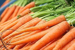 Сочная наполненая витаминами морковь