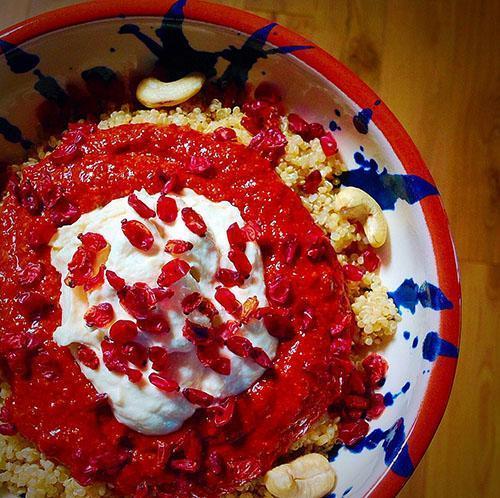 Соус из ягод барбариса