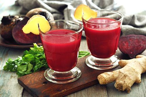 Свекольный сок с имбирем