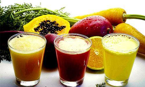 Свежие натуральные соки полезны для организма