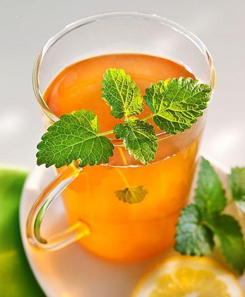 Чай с лимонной мятой