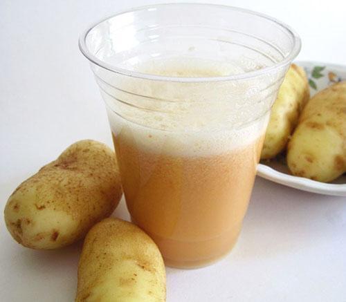 Сок картофеля улучшает работу иммунной системы