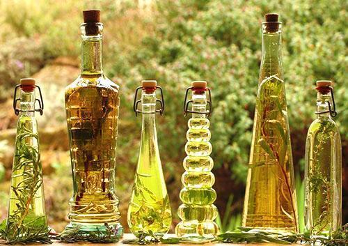 Виноградный уксус разных видов