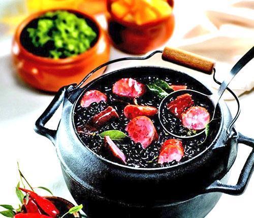 Из черной фасоли готовят постные сытные блюда
