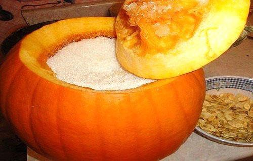 Изготовление тыквенного меда в домашних условиях