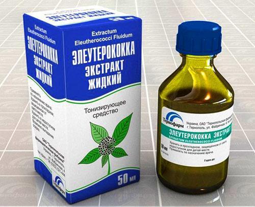Лекарство из корней элеутерококка
