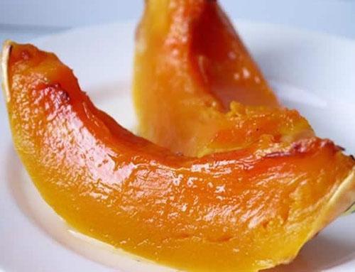 Печеная тыква обладает особым вкусом