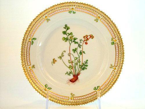 Изображение асплениума на тарелке