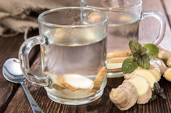 Для приготовления чая нужен свежий корень имбиря