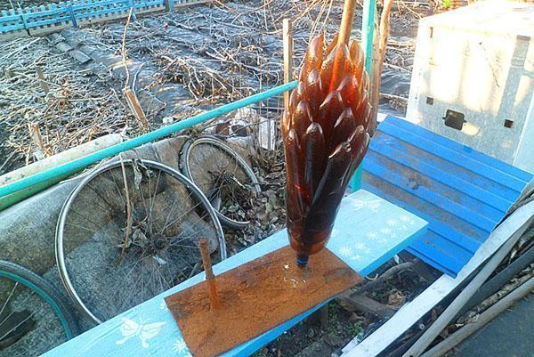 Для установки пальмы нужно прочное тяжелое основание