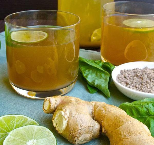 Имбирный чай с лимоном и медом ускорит метаболизм