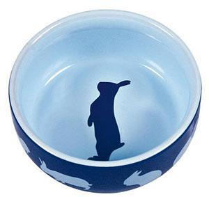 Кормушка для кролика - керамическая миска