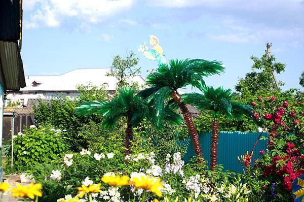 Пальмовый остров на дачном участке