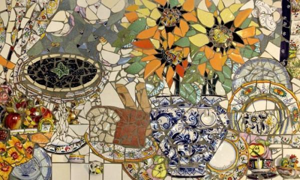 Мозаика натюрморт