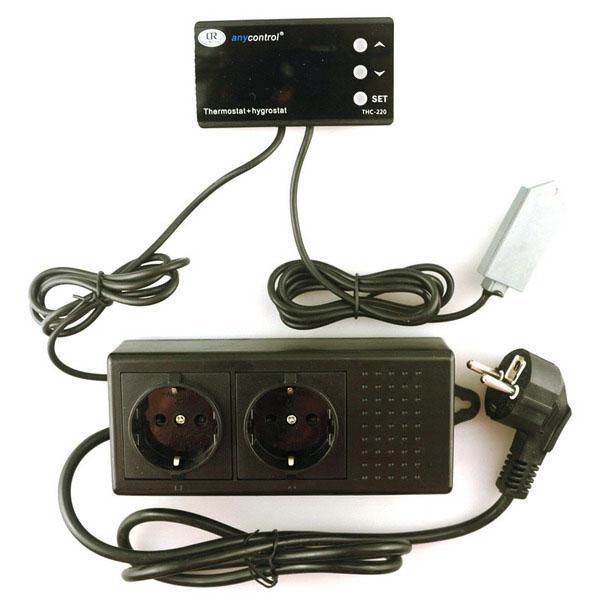 Цифровой терморегулятор для инкубатора