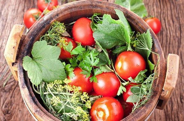 Домашняя засолка помидор