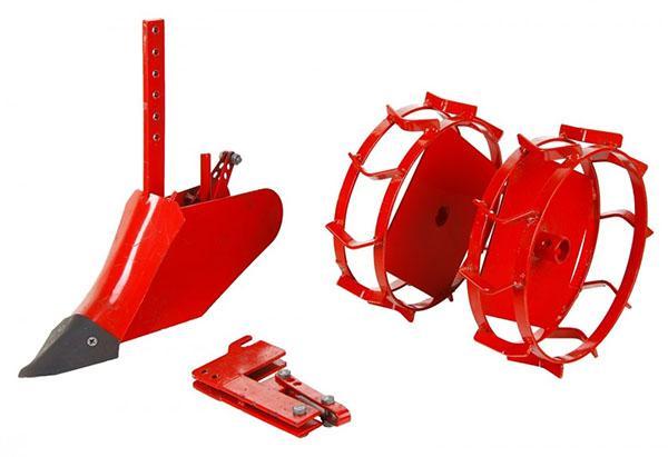 Навесное оборудование для культиватора Крот