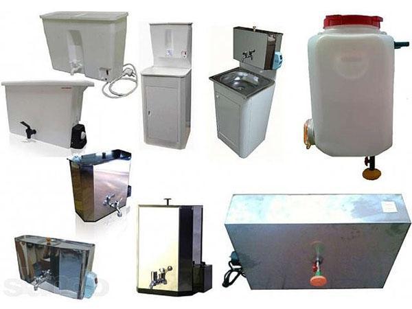 Разновидности наливных водонагревателей