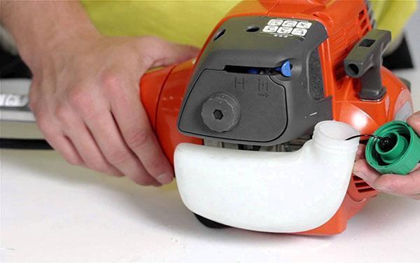 Бензотриммер хускварна ремонт своими руками фото 563