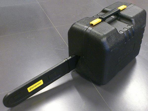 Укомплектованная бензопила чемпион 240