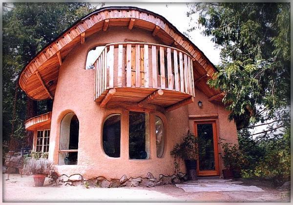 Дом из терраблоков