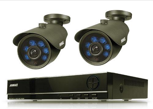 система видеонаблюдения 2 камеры