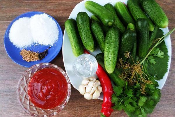 ингредиенты заготовки