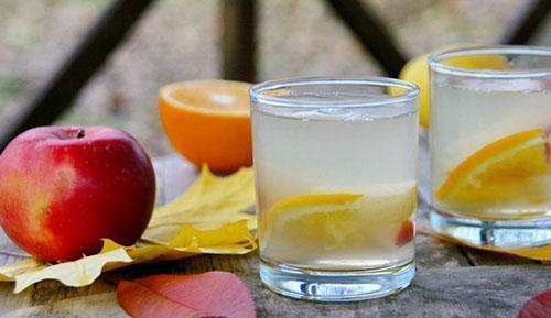компот из яблок и апельсинов рецепт