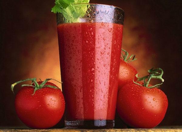 полезный сок из помидор