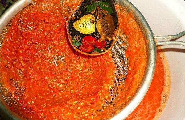 помидоры через сито