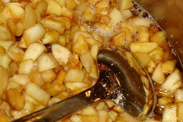 варить яблоки