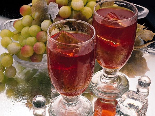 ароматный сок