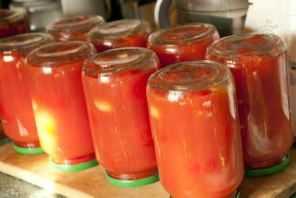 черри в томатном соке