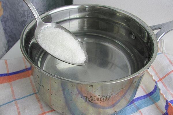 приготовить сироп