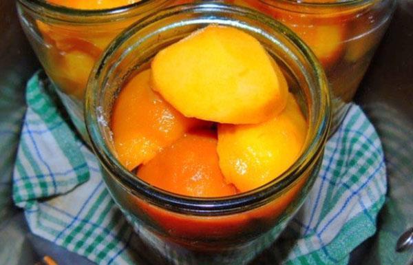 стерилизуем персик
